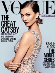 Карли Клосс для Vogue Australia Май 2013