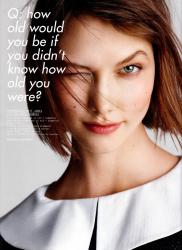 Карли Клосс для i-D Magazine