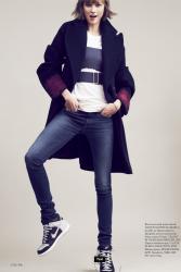 Карли Клосс для журнала Elle USA, сентябрь 2013