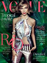 Карли Клосс для бразильского выпуска журнала VOGUE, ноябрь 2013