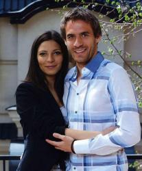 Марко Девич и его супруга Милица