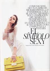 Барбара Палвин для журнала Vogue