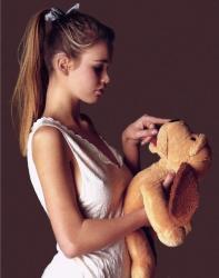 Молодая Клаудиа Шиффер