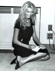 Клаудия Шиффер для итальянского Vogue