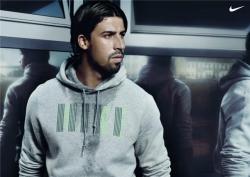 Сами Хедира в рекламе Найк