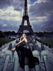 Татьяна Дягилева в L'Officiel Paris