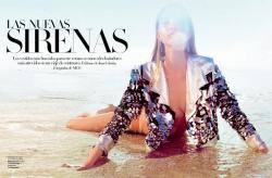 Татьяна Дягилева для Harper's Bazaar Spain