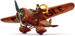 Амелия Мэри Эрхарт на праздничном логотипе Google