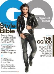 Кит Харингтон в фотосессии Паолы Кадаки для журнала GQ, апрель 2014
