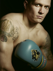 Татуировки Александра Усика
