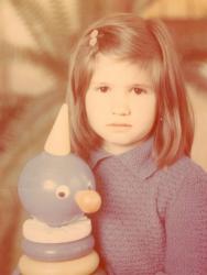 Анита Луценко в детстве