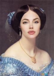 Анджелина Джоли в искусстве