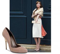 Звездная обувь Анджелина Джоли
