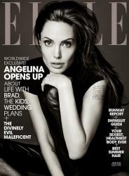 Анджелина Джоли в фотосессии Эди Слимана для журнала ELLE US, июнь 2014