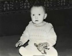 Елена Третьякова в детстве
