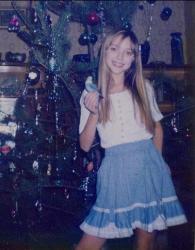 Екатерина Смеюха в детстве