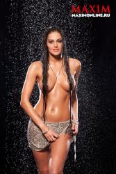 Ева Ривас в журнале Maxim
