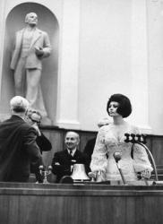 Софи Лорен в Кремлевском дворце, 1965 год