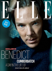Бенедикт Камбербэтч для Elle UK, декабрь 2014