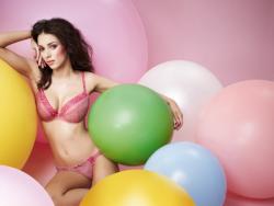 Georgia Salpa в лукбуке Cleo Lingerie