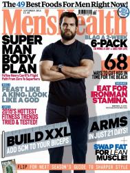 Генри Кавилл для Men's Health UK, сентябрь 2015