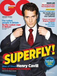 Генри Кавилл для июньского выпуска GQ UK