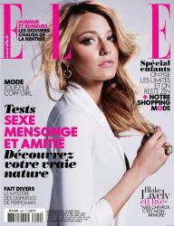 Блейк Лайвли для журнала ELLE France, 16 августа 2013