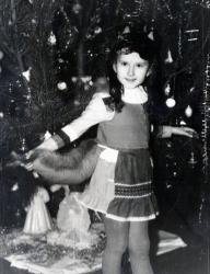 Ксения Бугримова в детстве