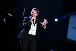 Евгений Литвинкович на сцене