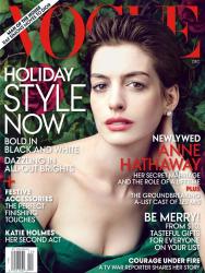 Энн Хэтэуэй для журнала Vogue US