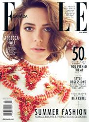 Ребекка Холл для Elle Canada