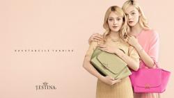 Дакота и Эль Фэннинг для рекламной кампании новой коллекции ювелирных украшений и аксессуаров от марки J.Estina