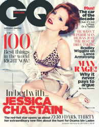 Джессика Честейн в фотосессии для журнала GQ UK