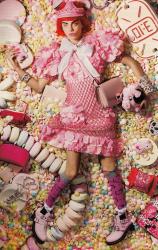Кара Делевинь для Love Magazine F/W 2014.15