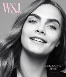 Кара Делевинь для WSJ Magazine, июнь 2015