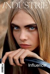 Кара Делевинь в фотосессии Аласдера МакЛеллана для INDUSTRIE #6