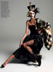 Аня Рубик для Vogue Paris, август 2013