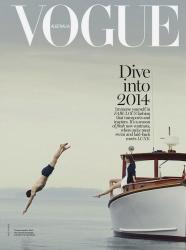 Хилари Рода для Vogue Australia, январь 2014