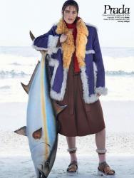 Хилари Рода для Vogue Brazil, август 2014