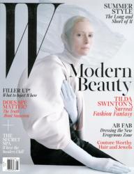 Тильда Суинтон для W Magazine