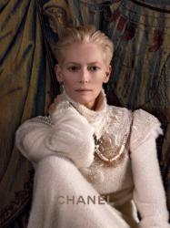 Тильда Суинтон в рекламной кампании CHANEL PARIS-EDINBURGH 2013