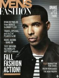 Дрейк на обложках журналов
