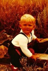 Дайан Крюгер в детстве