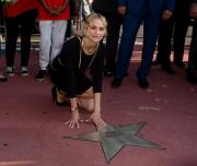 Звезда Дайан Крюгер на Аллее славы в Берлине