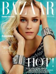 Дайан Крюгер для Harper's Bazaar Brazil, декабрь 2013