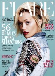 Рита Ора для Flare Magazine, август 2014