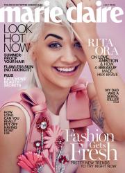 Рита Ора для Marie Claire US, июль 2015