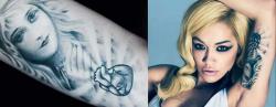 Татуировки Риты Ора