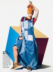 Рита Ора в фотосессии для августовского TEEN VOGUE