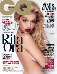 Рита Ора для августовского номера GQ UK